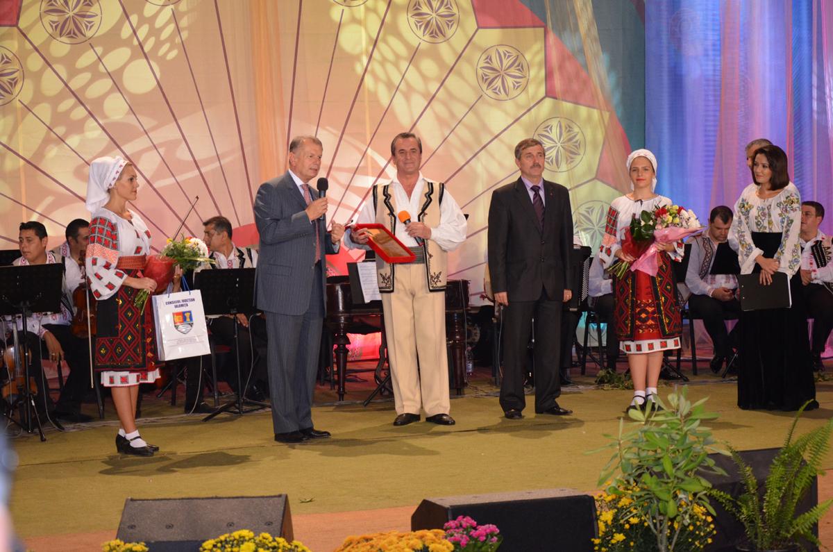 Acordarea titlului de ''Cetatean de Onoare al Municipiului Slobozia'' domnului Nicolae Rotaru