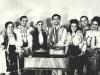 Cu solistii ansamblului Poenita - 1969