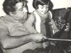 Invatandu-si fiul sa cante la vioara - 1977